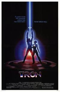 Tron - 11 x 17 Movie Poster - Style B - Museum Wrapped Canvas