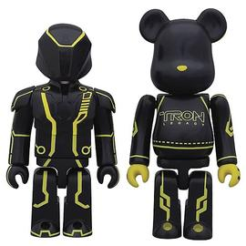 Tron - Legacy Clu Kubrick and Lightcycle Bearbrick 2-Pack