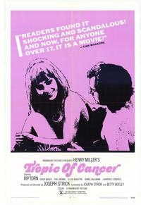 Tropic of Cancer - 11 x 17 Movie Poster - Style B