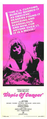 Tropic of Cancer - 27 x 40 Movie Poster - Style A
