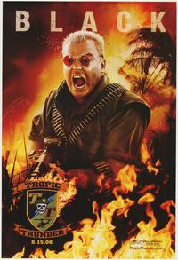 Tropic Thunder - 43 x 62 Movie Poster - Bus Shelter Style A