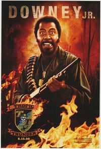 Tropic Thunder - 43 x 62 Movie Poster - Bus Shelter Style C