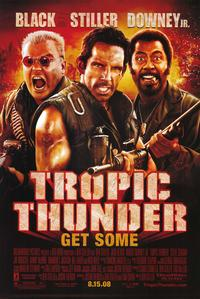 Tropic Thunder - 43 x 62 Movie Poster - Bus Shelter Style D