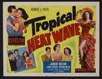 Tropical Heat Wave - 22 x 28 Movie Poster - Half Sheet Style A