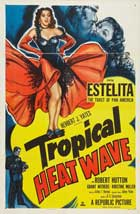 Tropical Heat Wave - 11 x 17 Movie Poster - Style B