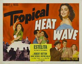Tropical Heat Wave - 22 x 28 Movie Poster - Half Sheet Style B