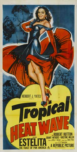 Tropical Heat Wave - 20 x 40 Movie Poster - Style A