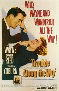 Trouble Along the Way - 27 x 40 Movie Poster - Style A