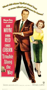 Trouble Along the Way - 11 x 17 Movie Poster - Style B