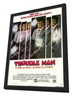 Trouble Man - 27 x 40 Movie Poster - Style A - in Deluxe Wood Frame