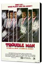 Trouble Man - 27 x 40 Movie Poster - Style A - Museum Wrapped Canvas
