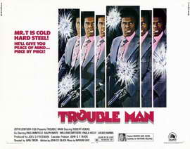 Trouble Man - 22 x 28 Movie Poster - Half Sheet Style A