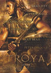 Troy - 11 x 17 Movie Poster - Italian Style A