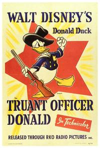 Truant Officer Donald - 27 x 40 Movie Poster - Style A