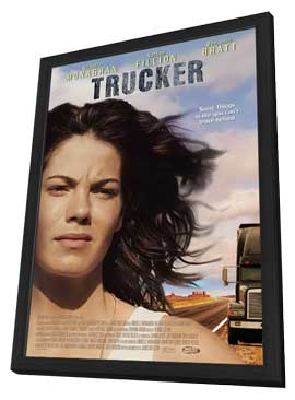 Trucker - 11 x 17 Movie Poster - Style A - in Deluxe Wood Frame