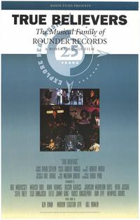 True Believers: The Musical Family of Rounder Records - 27 x 40 Movie Poster - Style A