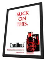 True Blood (TV) Season 1 - 27 x 40 TV Poster - Style B - in Deluxe Wood Frame