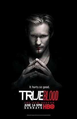 True Blood (TV) Season 2 - 11 x 17 Season 2 Character Poster - Alexander Skarsgard [Eric]