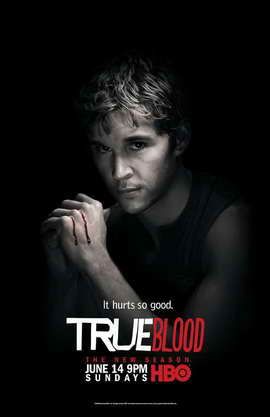 True Blood (TV) Season 2 - 11 x 17 Season 2 Character Poster - Ryan Kwanten [Jason]