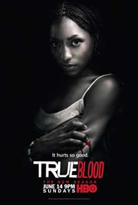 True Blood (TV) Season 2 - 11 x 17 Season 2 Character Poster - Rutina Wesley [Tara]