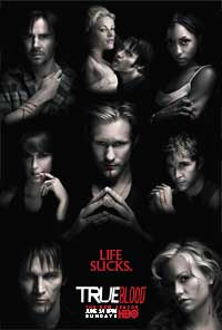 True Blood (TV) Season 2 - 11 x 17 TV Poster - Style A - Double Sided
