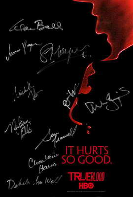 True Blood (TV) Season 2 - 13.5 x 20 TV Poster - Cast Signatures - Style A