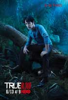 True Blood (TV) Season 3 - 27x40 Season 3 Character Poster - Stephen Moyer [Bill]