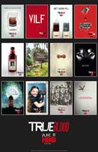 True Blood (TV) Season 3 - 27 x 40 TV Poster - Style K