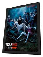True Blood (TV) Season 3 - 27 x 40 TV Poster - Style L - in Deluxe Wood Frame