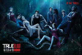 True Blood (TV) Season 3 - 27 x 40 TV Poster - Style B