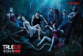True Blood (TV) Season 3 - 11 x 17 TV Poster - Style A - Double Sided