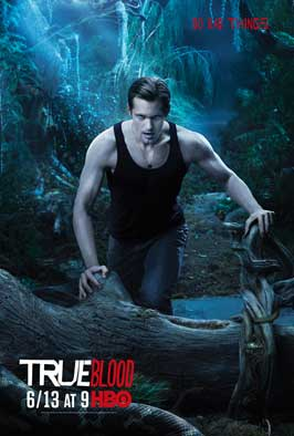 True Blood (TV) Season 3 - 11 x 17 Season 3 Character Poster - Alexander Skarsgard [Eric]