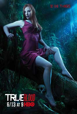 True Blood (TV) Season 3 - 11 x 17 Season 3 Character Poster - Deborah Ann Woll [Jessica]