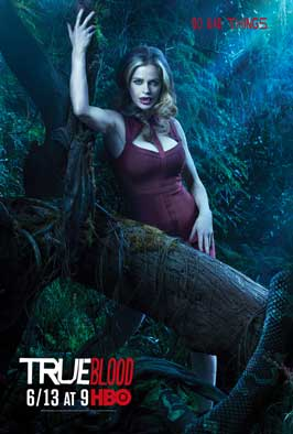 True Blood (TV) Season 3 - 27x40 Season 3 Character Poster - Kristin Bauer [Pam]