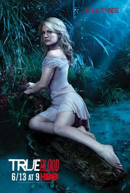 True Blood (TV) Season 3 - 11 x 17 Season 3 Character Poster - Anna Paquin [Sookie]