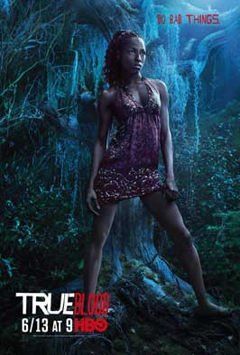 True Blood (TV) Season 3 - 11 x 17 Season 3 Character Poster - Rutina Wesley [Tara]