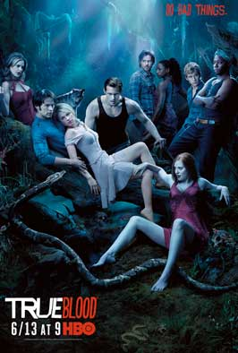 True Blood (TV) Season 3 - 27 x 40 TV Poster - Style L