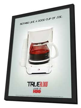 True Blood (TV) Season 3 - 11 x 16 TV Poster - Style E - in Deluxe Wood Frame