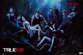 True Blood (TV) Season 4 - TV Poster - 24 x 36 - Style D
