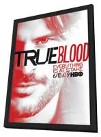 True Blood (TV) Season 5 - 11 x 17 TV Poster - Style B - in Deluxe Wood Frame