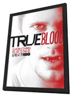 True Blood (TV) Season 5 - 11 x 17 TV Poster - Style D - in Deluxe Wood Frame