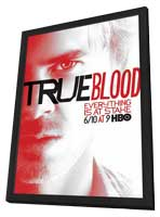 True Blood (TV) Season 5 - 11 x 17 TV Poster - Style K - in Deluxe Wood Frame