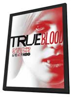 True Blood (TV) Season 5 - 11 x 17 TV Poster - Style F - in Deluxe Wood Frame