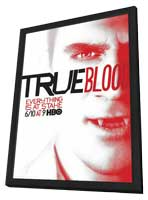 True Blood (TV) Season 5 - 11 x 17 TV Poster - Style I - in Deluxe Wood Frame