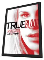 True Blood (TV) Season 5 - 11 x 17 TV Poster - Style L - in Deluxe Wood Frame