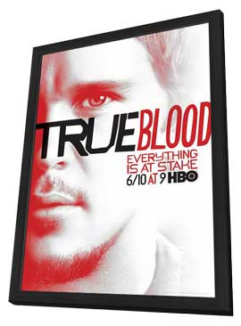 True Blood (TV) Season 5 - 11 x 17 TV Poster - Style E - in Deluxe Wood Frame