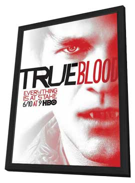True Blood (TV) Season 5 - 11 x 17 TV Poster - Style C - in Deluxe Wood Frame