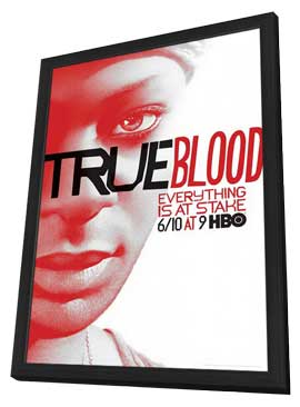 True Blood (TV) Season 5 - 11 x 17 TV Poster - Style G - in Deluxe Wood Frame
