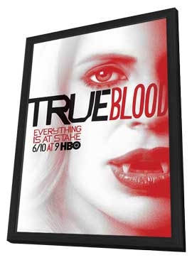 True Blood (TV) Season 5 - 11 x 17 TV Poster - Style H - in Deluxe Wood Frame