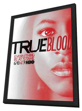 True Blood (TV) Season 5 - 11 x 17 TV Poster - Style M - in Deluxe Wood Frame